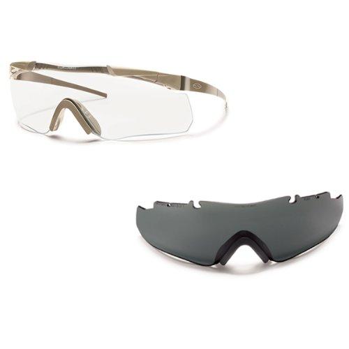 Smith Optics Elite Aegis Echo Compact Eye shield Field Kit, Gray Lens