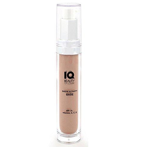 IQ Beauty Tinted Moisturizer Sheer Activity Base SPF 15 Large - 1oz
