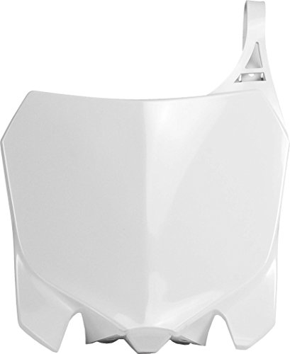 - Acerbis 2314360002 White Front Number Plate