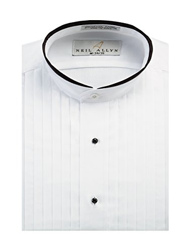 Neil Allyn Men's Banded Collar 1/2