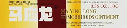 Mayinglong Musk Hemorrhoids Ointment Cream - 3PK (US English Label)