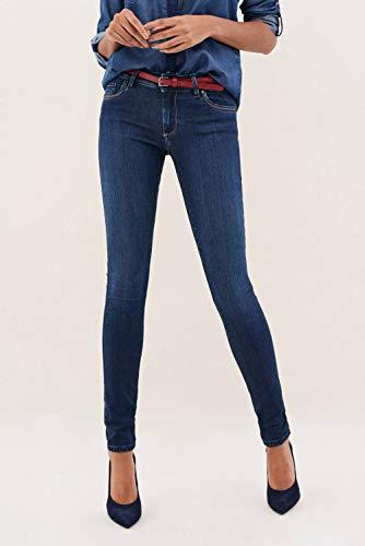 Azzuro Cintura Jeans Wonder Offerta Skinny In Salsa pazqWS