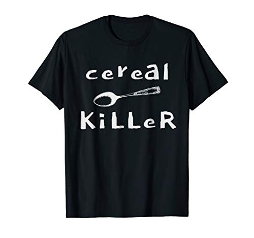 Lazy Halloween Costume Tshirt Cereal Killer T -