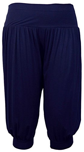 Fashion & Freedom - Pantalón - para mujer azul marino