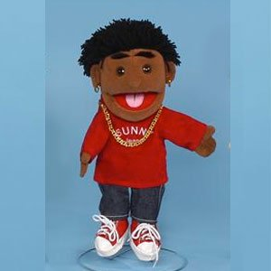 Black Boy Puppet (Sunny Toys 14
