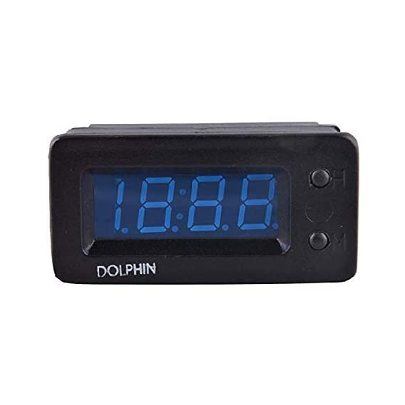 Dolphin car accessories Mini Universal LED Digital Car Dashboard Clock