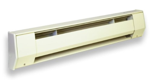 King 3CB2405BW 500-Watt 240-Volt 3-Foot Ceramic Baseboard...