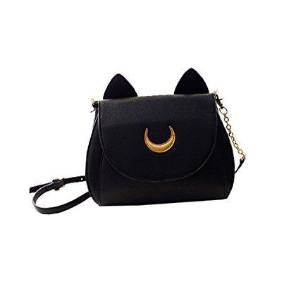 OLIA DESIGN OliaDesign Cosplay Sailor Moon Tsukino Usagi PU Leather Women Handbag Shoulder Bags (Sailor Moon Japanese Candy)