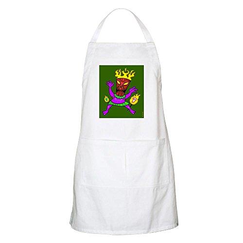 Frankenstien Mask (CafePress - Tiki Headhunter BBQ Apron - Kitchen Apron with Pockets, Grilling Apron, Baking Apron)