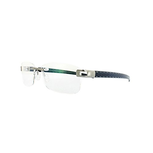 Tag Heuer Glasses Frames L-Type T 0151 004 Ruthenium Blue Dark Grey - Heuer Tag Sunglasses L Type