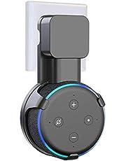 SPORTLINK Wandhalterung Halterung Ständer für Dot 3rd Gen (Nicht kompatibel mit Dot 2nd Gen), Aufgehängt WaMount Für Home Voice Assistants, Direkt in der Steckdose, mit Kabelmanagement