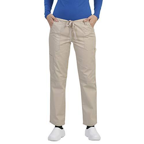 MAZEL UNIFORMS Womens Scrub Pants with Seven Pockets ()