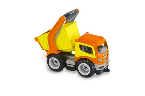 Wader Grip Dump Truck For Toddlers, A Large Handle Grip Can Be Used to Steer, No Sharp ()