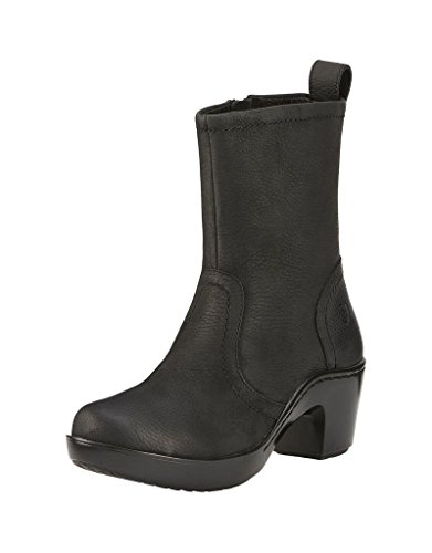 ARIAT Women's Brittany Boot,Black Full Grain Leather,US 9 B (Ariat Leather Clogs)