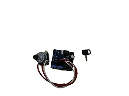 Amazon John Deere Key Switch Ignition Module With 345. John Deere Key Switch Ignition Module With 345 Am124137 Am131841. John Deere. Gx345 John Deere Key Switch Schematic At Scoala.co