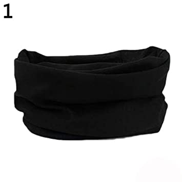 quanjucheer Men Neck Scarf Outdoor High Elastic Cycling Seamless Cycling Sport Headband