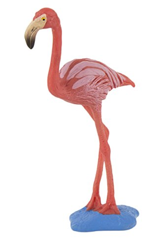 Toy Flamingo - Safari Ltd Wings Of The World – Flamingo – Realistic Hand Painted Toy Figurine Model – Quality Construction From Safe And BPA Free Materials – For Ages 3 And Up