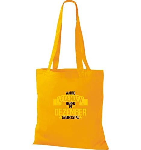 De Amarillo Asas Bolso Mujer Para Algodón Wm10109441 Shirtstown REqp77