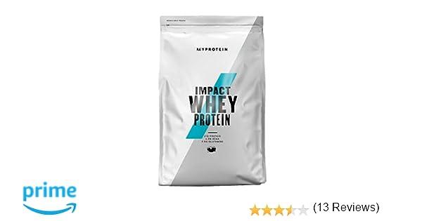 MyProtein Impact Whey Proteína de Suero, Sabor Chocolate Natural - 1000 gr