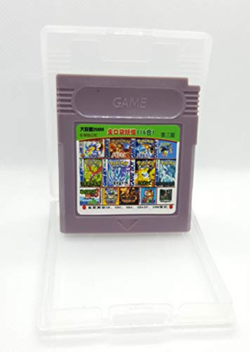 - 116 in 1 Game Boy COLOR GBC Multi Cart Tons of Classic Retro Games and many more