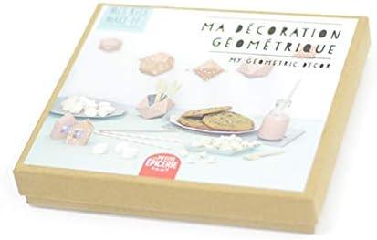La petite épicerie Kit créatif Mes Kits Make It (MKMI) : Ma décoration géométrique