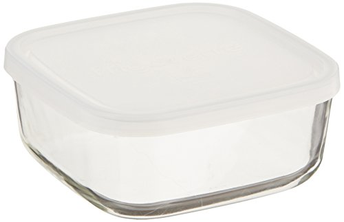 Bormioli Rocco Frigoverre Square Food Container with Frosted