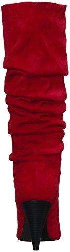 Indigo Rd. Womens Fayen Fashion Boot Red
