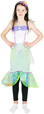Bodysocks® Disfraz de Sirena Niña (7-9 años): Amazon.es: Juguetes ...