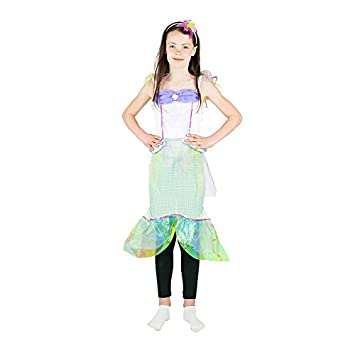 Bodysocks® Disfraz de Sirena Niña (4-6 años): Amazon.es: Juguetes ...