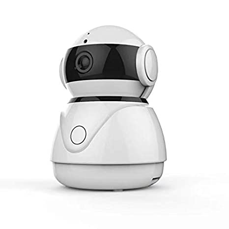 Security & Protection Capable 1080p Hd Network Camera Two-way Audio Wireless Network Camera Night Vision Motion Detection Camera Robot Pet Baby Monitor