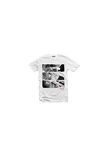 Magic smoke Badriri Rihanna smoke-Camiseta blanco