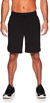 9 Inch Inseam Reebok Mens Lightweight Workout Gym /& Running Shorts w//Elastic Drawstring Waistband /& Pockets
