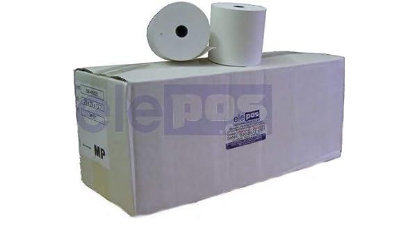 Rollos de impresión de grado A, 76 x 76 A, rollos de impresora externa, rollos de impresora de cocina, 1 caja (20 rollos) Pack of 5 - 100 Rolls: Amazon.es: Oficina y papelería