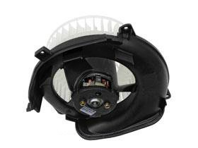 Mercedes w126 oem heater climate blower motor for Squirrel cage fan motor