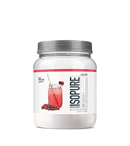 Orange Juice Protein Shake - ISOPURE INFUSIONS, Refreshingly Light Fruit Flavored Whey Protein Isolate Powder,