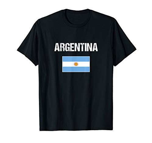 (Argentina T-shirt Argentinian Flag For)