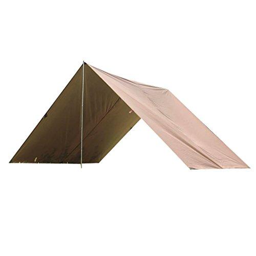 Zelte Camping & Outdoor 4 in1 Abdeckplane Sonnensegel Camping Zelt Tarp Wasserdicht Tragbare Zeltplane