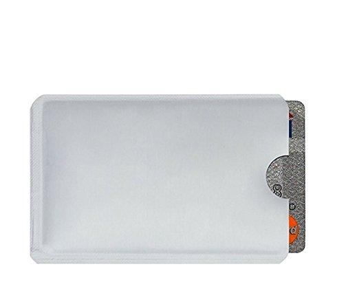 Une Pour Anti lot De Imperméable 10 Protection Carte rfid Et Crédit Passeport Vol 100pcs D'identité z8qFnfw
