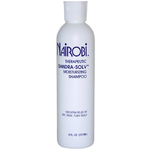Therapeutic Dandra-Solv Moisturizing Shampoo for Unisex By Nairobi, 8 Ounce (Nairobi Hair Shampoo)