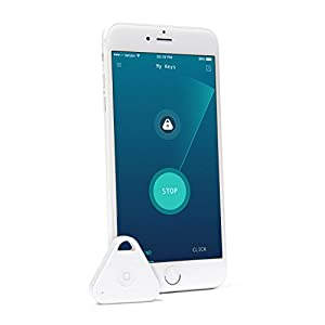 nonda iHere Key Finder, Phone Finder, Car Finder, Selfie Remote and Voice Recording Rechargeable Bluetooth Tracker for iPhone 4S/5/6/6S, iPad, Samsung Galaxy S5/S6/Note 4 and More (Gen 2)