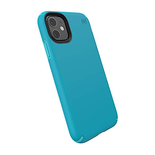 Speck Presidio Pro Case for iPhone 11, Bali Blue, Skyline Blue