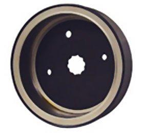 V-Factor 17858 Black Alternator Rotor for Big Twin