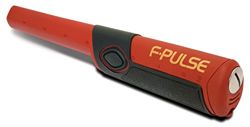 Fisher F-Pulse Waterproof Pinpointer Metal Detector, Red