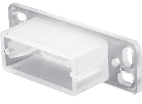 Prime-Line Products R 7145 Drawer Track Back Plate,(Pack of 2) ()