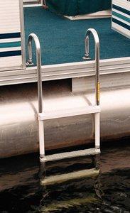 GARELICK Pontoon Swim Ladder, 4 Step, L 50