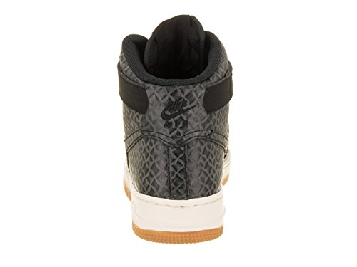 Premium Black Sail sail Force gum Black Black Air Womens Black Brown Brown Hi 1 Med Med Nike Shoe Basketball Gum XwRfqpF