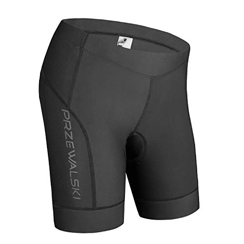 3D Bike Shorts for Women with Padded Bicycle Bike Biking Underwear Shorts Black