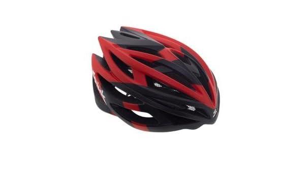 Spiuk Casco Nexion Negro-Rojo - Talla: M-L (53-61 cm): Amazon.es: Deportes y aire libre