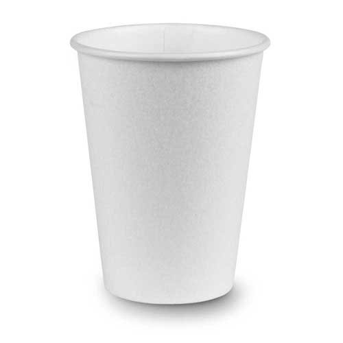 PerfecTouch 12 Ounce Insulated Paper Hot Cup Simply White -- 1000 per case.