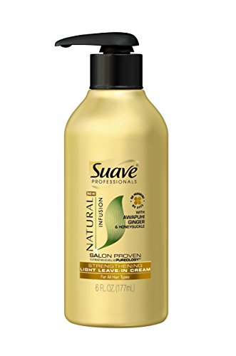 suave-professionals-light-leave-in-cream-natural-infusion-ginger-6-oz